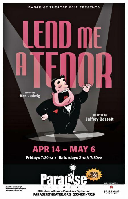 """Lend me a Tenor"" continues at Paradisethrough May 6."