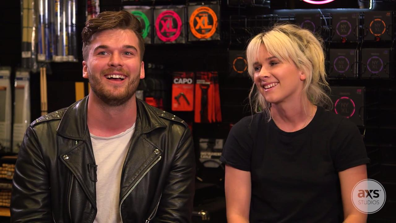 Watch Broods chat about New Zealand, relationship with Joel Little and more