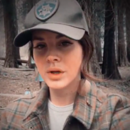 Lana Del Rey shared a new peace-driven song from her journey in the California woods after being inspired at Coachella.