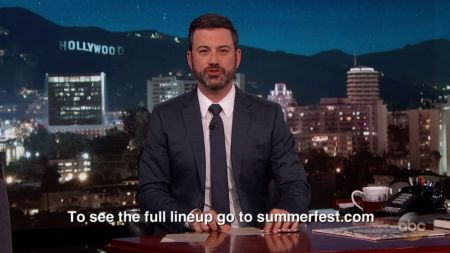 Summerfest 50 to be streamed by 'Jimmy Kimmel Live'