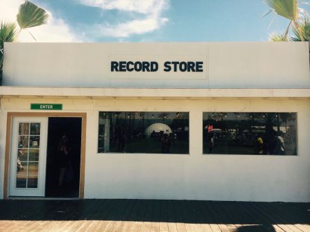 AXS stopped into the the Coachella Record Store during weekend one to talk to the pop-up's curator, Alex Rodriguez.
