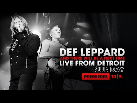 Watch: Def Leppard posts preview for U.S. debut of upcoming AXS TV concert special