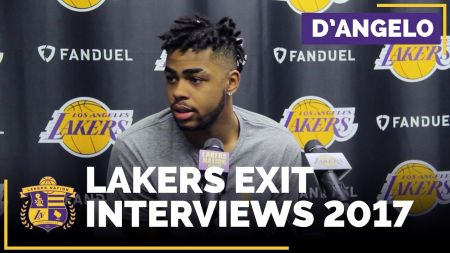 Lakers brass stress consistency in exit interview with D'Angelo Russell