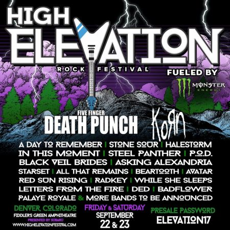 High Elevation Rock Festival is returning to Fiddler's in September