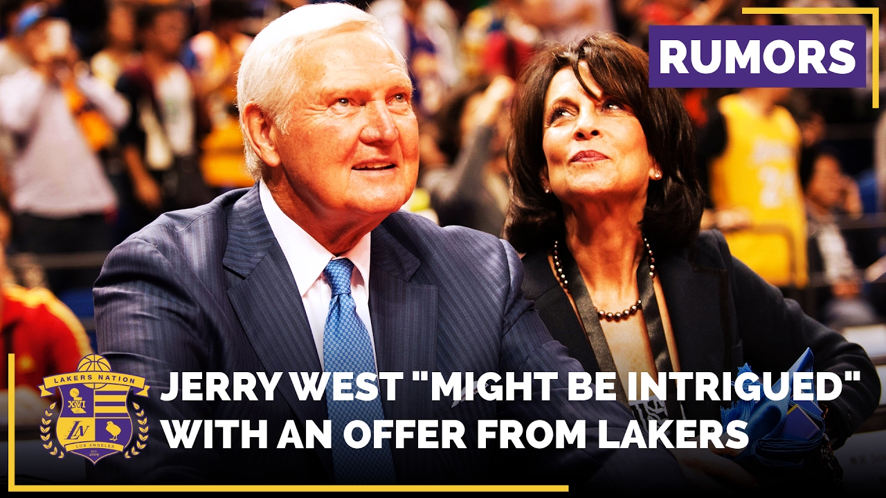 Jerry West would reportedly 'love' to return to Lakers; team not interested in reunion