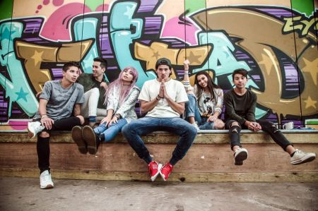 "The members of teen pop group JAGMAC, whose current single ""Soldiers"" is now available on iTunes."