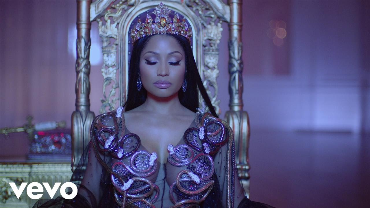 NIcki Minaj, Drake and Lil Wayne premiere 'No Frauds' music video