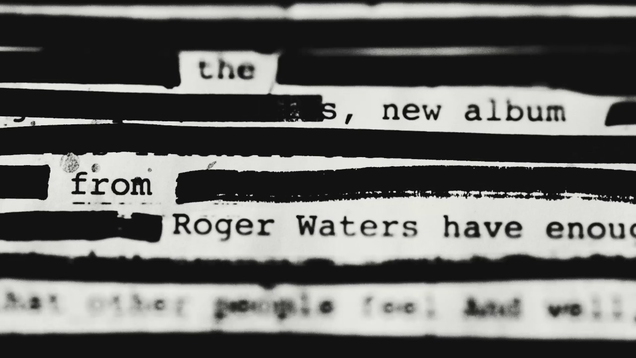 Roger Waters unveils details on new studio album 'Is This the Life We Really Want?'