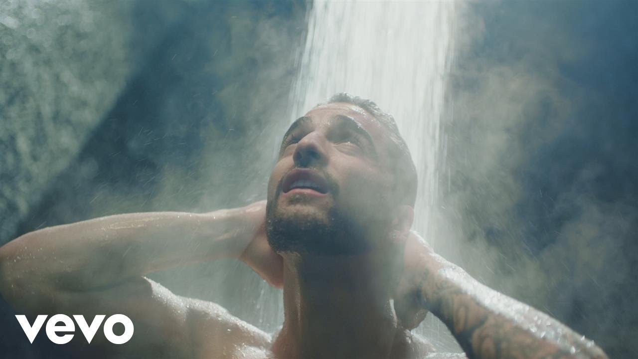 Maluma's wet and wild 'Felices Los 4' music video is a literal thirst trap