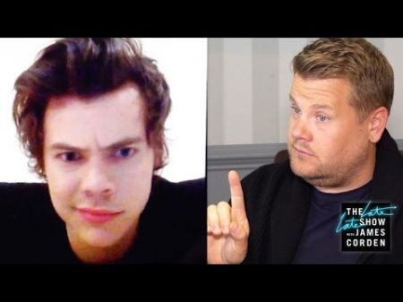 Watch: James Corden teases 'A Week with Harry Styles,' has hang up face-off in funny clip