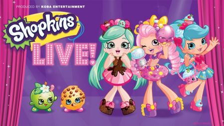 Shopkins Live! will bring Shopville to life during North America tour