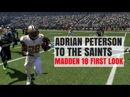 Adrian Peterson agrees to two-year deal with New Orleans Saints
