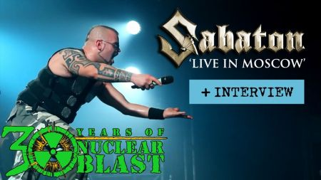 Sabaton touring North America while racking up gold records