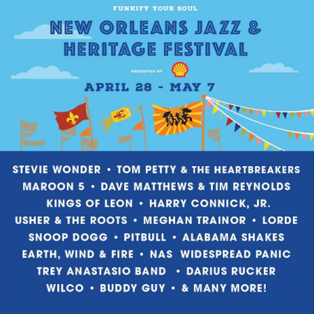 Jazz Fest is back with another sick lineup in 2017