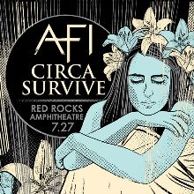 AFI & Circa Survive tickets at Red Rocks Amphitheatre in Morrison