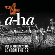 An Acoustic Evening with a-ha tickets at The O2 in London