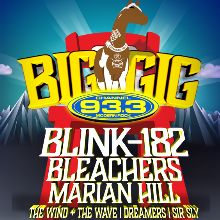 Channel 93.3 Big Gig 2017: Blink-182 tickets at Fiddler's Green Amphitheatre in Greenwood Village