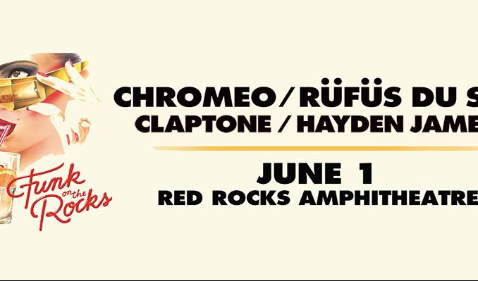 Chromeo, RÜFÜS DU SOL tickets at Red Rocks Amphitheatre in Morrison