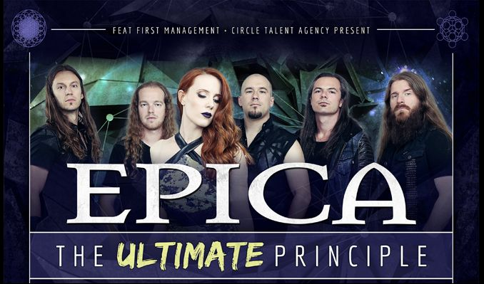 Epica tickets at Ogden Theatre in Denver