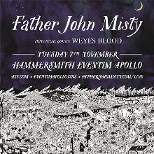 Father John Misty tickets at Eventim Apollo in London