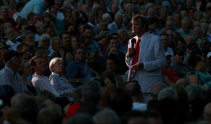 "Garrison Keillor's Prairie Home ""Love and Comedy"" Show tickets at The Greek Theatre in Los Angeles"