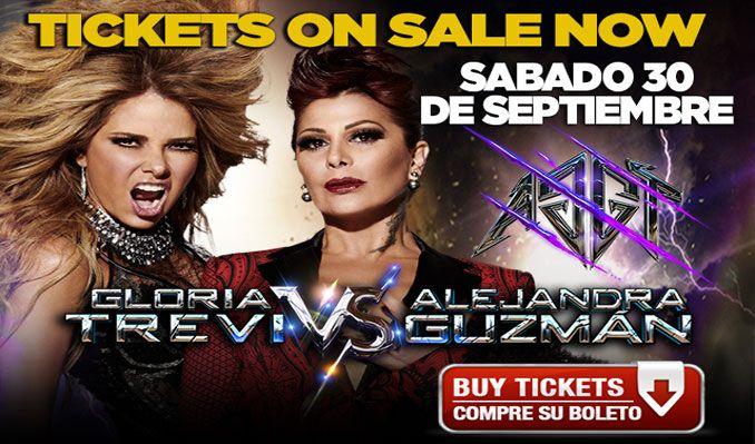 Gloria Trevi vs Alejandra Guzmán tickets at Infinite Energy Arena in Duluth