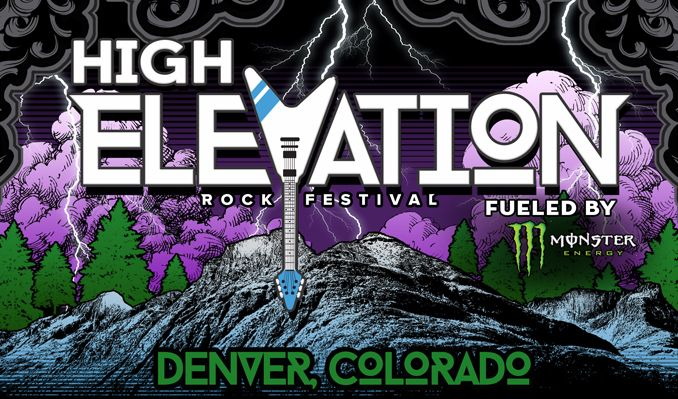 High Elevation Rock Festival tickets at Fiddler's Green Amphitheatre in Greenwood Village