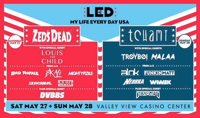 My Life Every Day USA 2017 tickets at Valley View Casino Center in San Diego