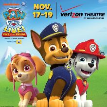 PAW Patrol Live! Race to the Rescue tickets at Verizon Theatre at Grand Prairie in Grand Prairie