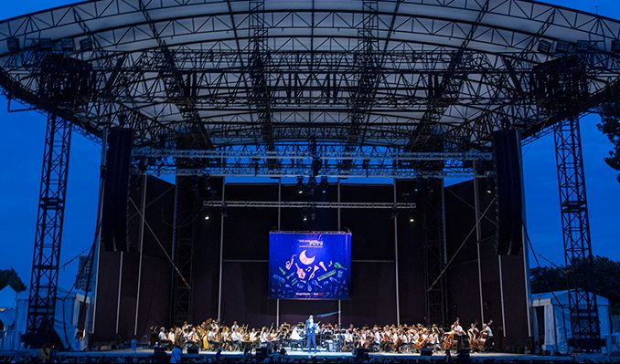 The New York Pops Plays the Music of John Williams tickets at Forest Hills Stadium in Queens
