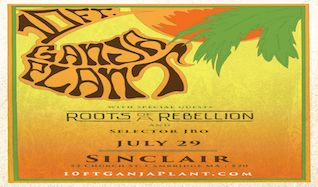 10 Ft. Ganja Plant tickets at The Sinclair in Cambridge