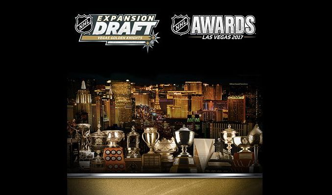 2017 NHL Awards & NHL Expansion Draft tickets at T-Mobile Arena in Las Vegas