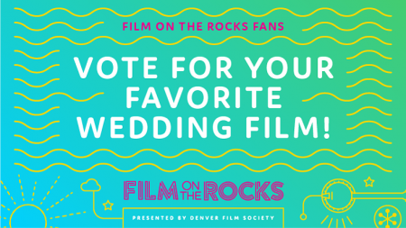 Vote now for one of the nine films screen at Red Rocks this summer