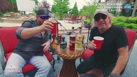 Rock and Roll Road Trip: Sammy Hagar visits Toby Keith