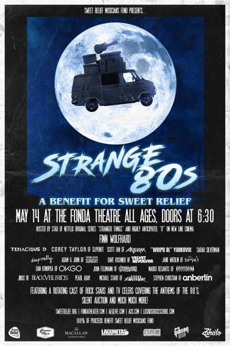 Win a pair of tickets to Strange 80's in LA featuring Tenacious D, 'Weird Al' Yankovic, Sarah Silverman and more