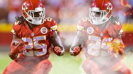 Former Chiefs RB Jamaal Charles set to meet with Broncos