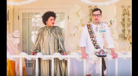 "Jack Antanoff's wedding doesn't go quite according to plan in the new music video for Bleachers' ""Don't Take The Money."""