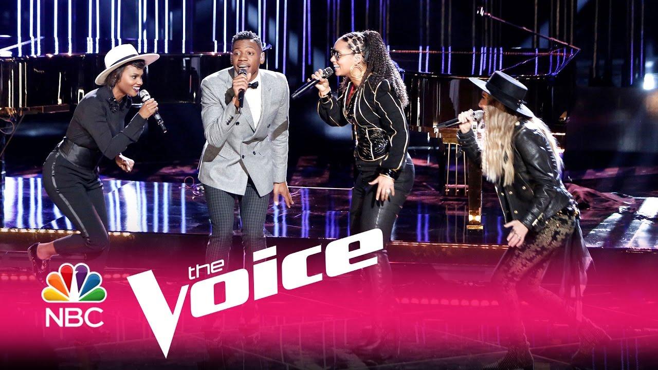Watch Team Alicia's impressive Aretha Franklin cover on 'The Voice'