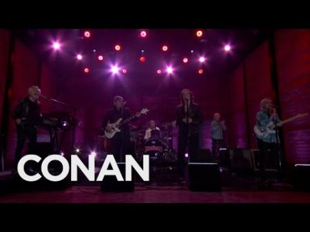 Watch: The Zombies perform 'Time of the Season' and 'Rose for Emily' on Conan