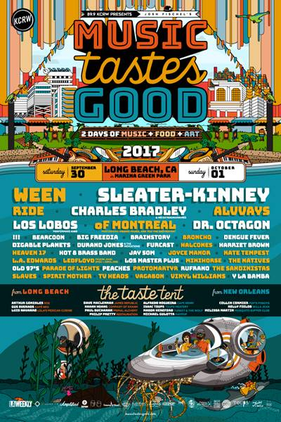 Music Tastes Good 2017 announces lineup: Ween and Sleater-Kinney to headline