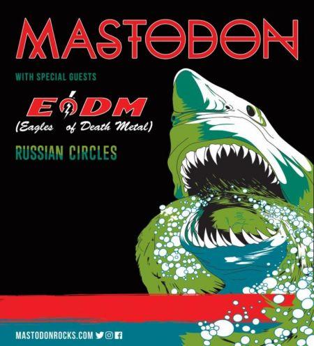 Live review: Mastodon delivers cerebral metal mayhem at Cleveland Agora