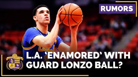 Lakers reportedly 'enamored' with UCLA's Lonzo Ball