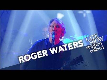 Watch: Roger Waters performs live debut of 'Deja Vu' on 'The Late Show'