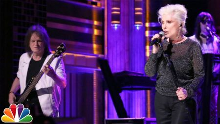 Watch: Blondie performs single 'Long Time' on 'The Tonight Show'