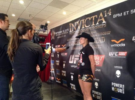 Andrea Lee is set to fight at Invicta FC 23