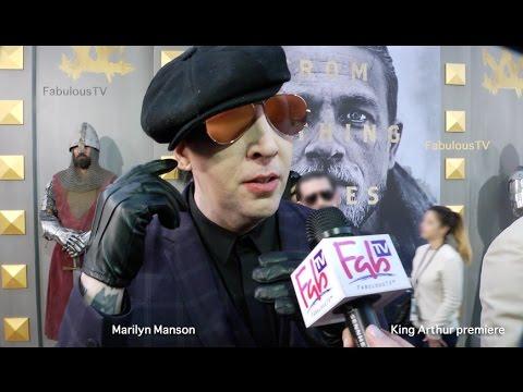 Marilyn Manson finishes new album 'Heaven Upside Down'