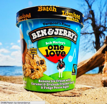 Popular ice cream brand Ben & Jerry's will be putting out a new flavor in honor of Bob Marley titled, One Love.