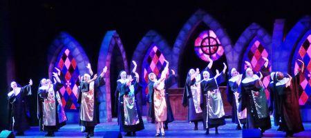 """The singing nuns of """"Sister Act the Musical"""" at Tacoma Musical Playhouse"""