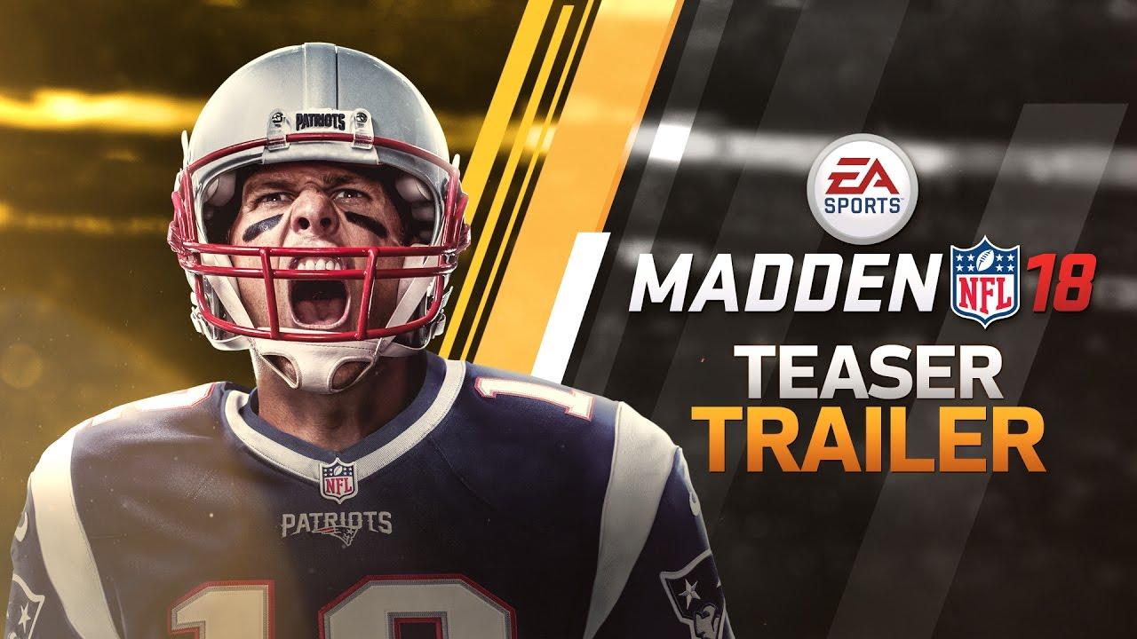 Patriots QB Tom Brady named 'Madden NFL 18' cover athlete