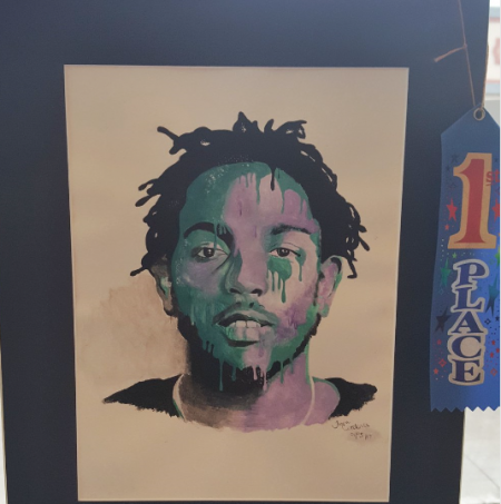 Student who painted Kendrick Lamar portrait will have it hung in US Capitol Building